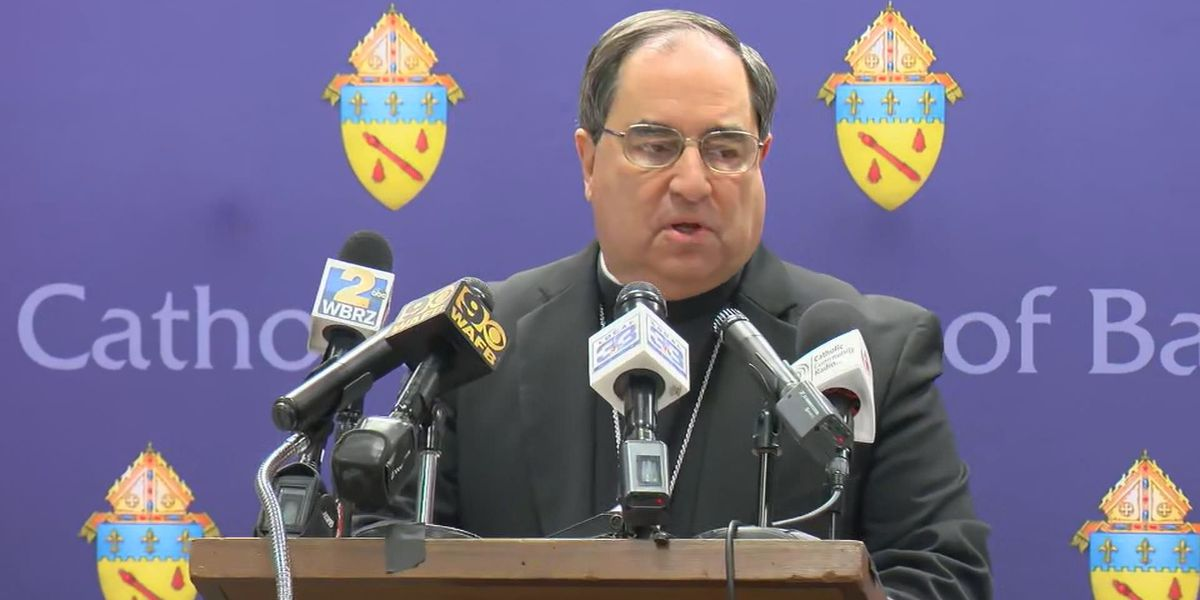 New name added to Catholic Diocese of Baton Rouge's list of names of clergy credibly accused of sexually abusing minors