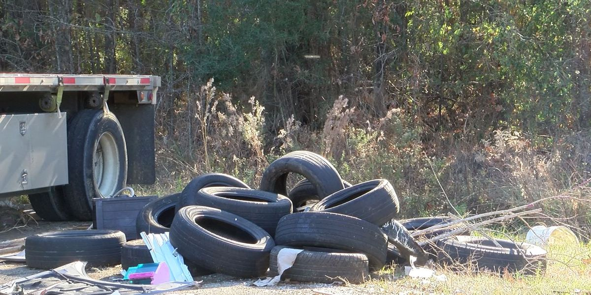 Residents fed up with illegal dumping of tires, but new program could help