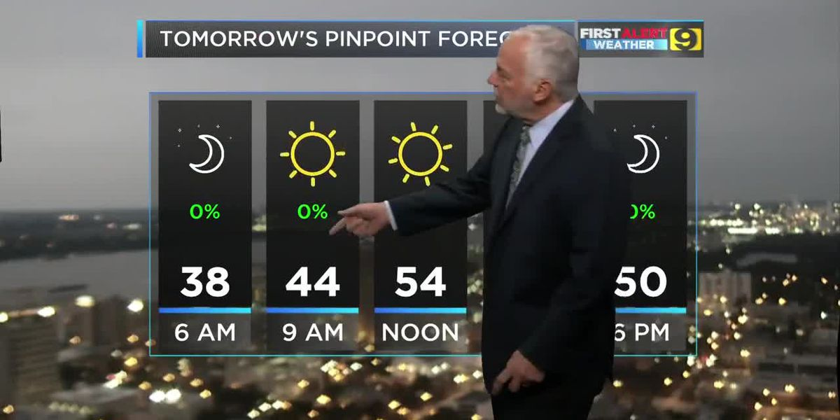 FIRST ALERT 5 P.M. FORECAST: Thursday, Nov. 14