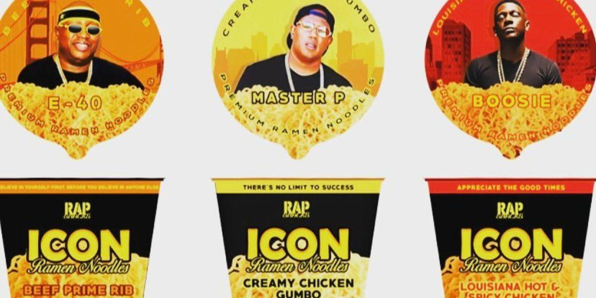 'Rap Noodles' to hit shelves Friday
