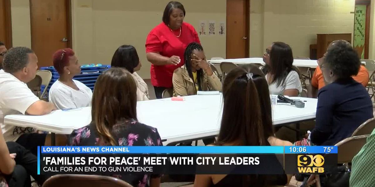 """Families for Peace"" meet with city leaders"