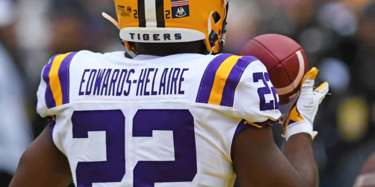 Clyde Edwards-Helaire announces for NFL Draft
