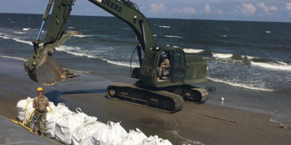 Tattered levee worries Grand Isle mayor as Laura moves towards Gulf Coast