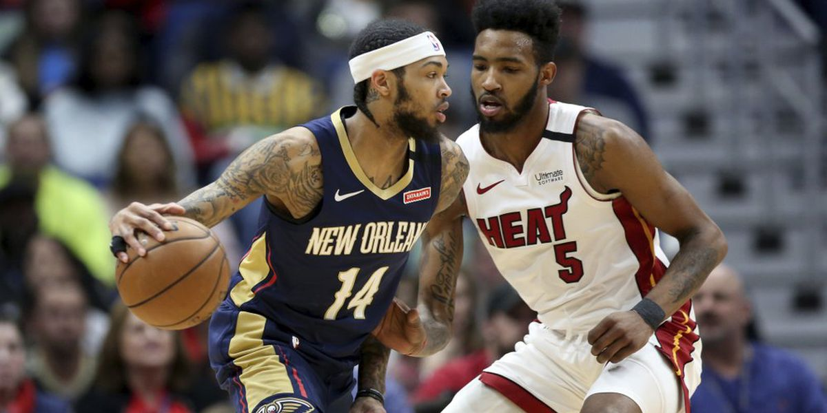 Ingram ovecomes shooting woes, helps Pelicans beat Heat