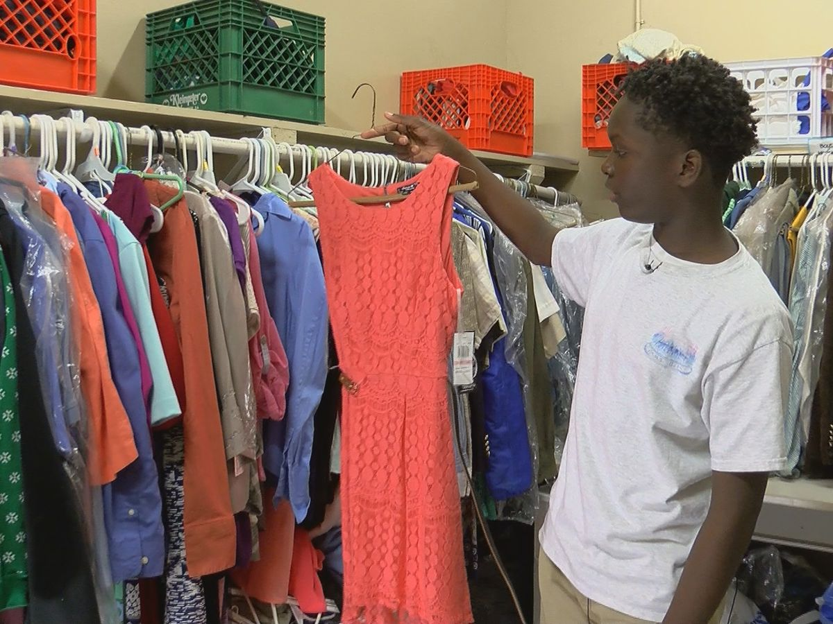 Port Allen 8th grader works to ensure every student has nice clothes for school