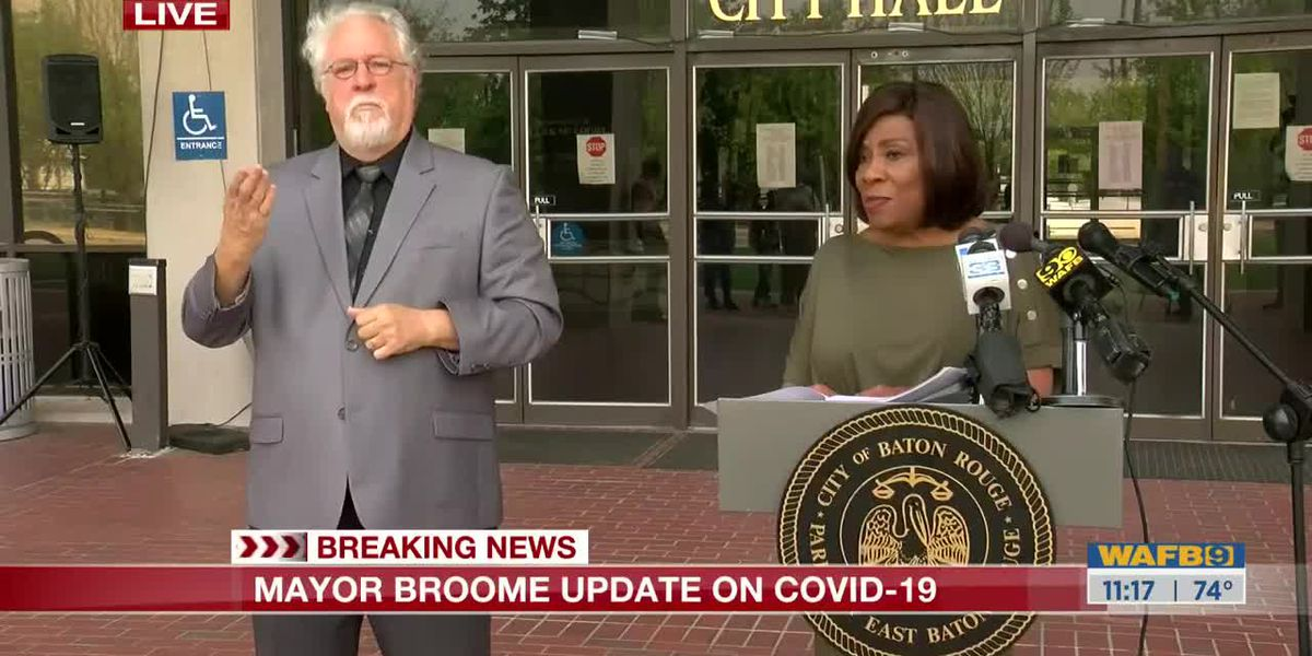 Mayor Broome: 'We will get through this together'