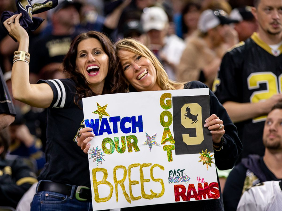 Rams player doesn't think the Dome will be loud; Payton: Here's when you should scream