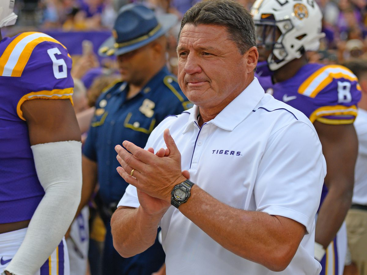 LSU remains at No. 4 in AP Top 25 Poll