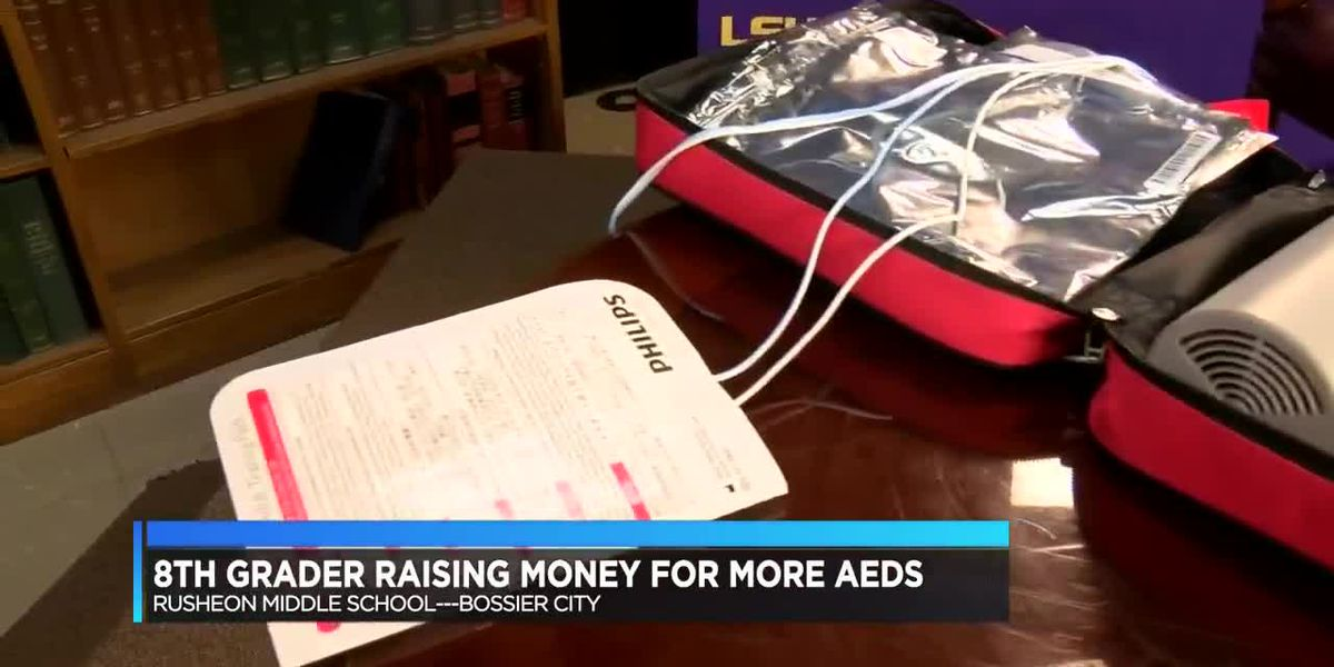 Student working to purchase more life-saving devices for his school