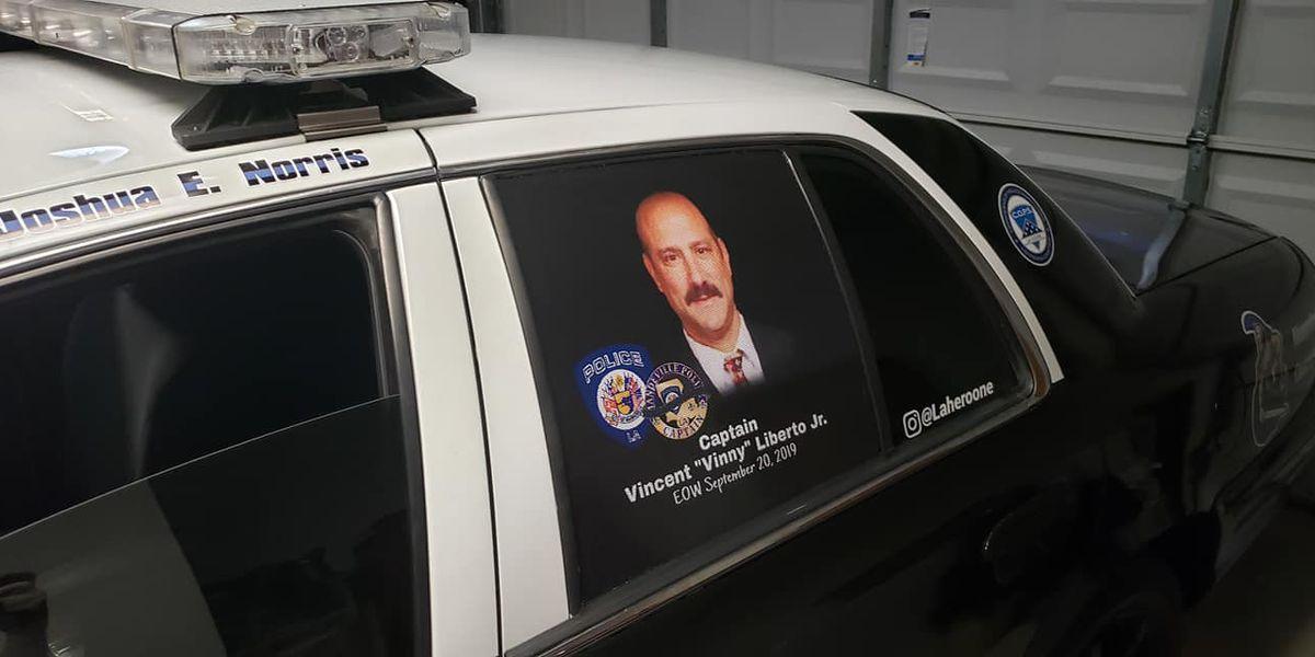 Community says goodbye to Mandeville Police Capt. Vincent Liberto