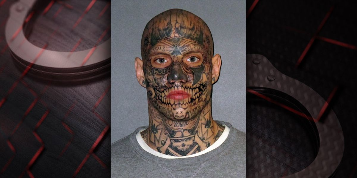 Man known for face covered with tattoos in mugshots convicted of ...