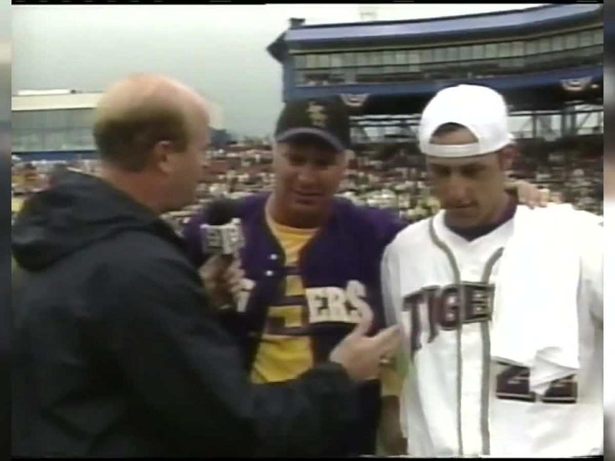 WAY BACK WEDNESDAY: Preview of 2000 LSU CWS Championship Post-Game for Wed., June 24