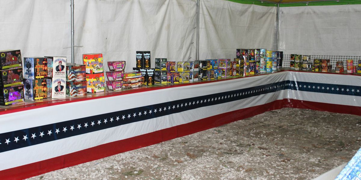 Fire Marshal shuts down multiple fireworks stands due to illegal sales