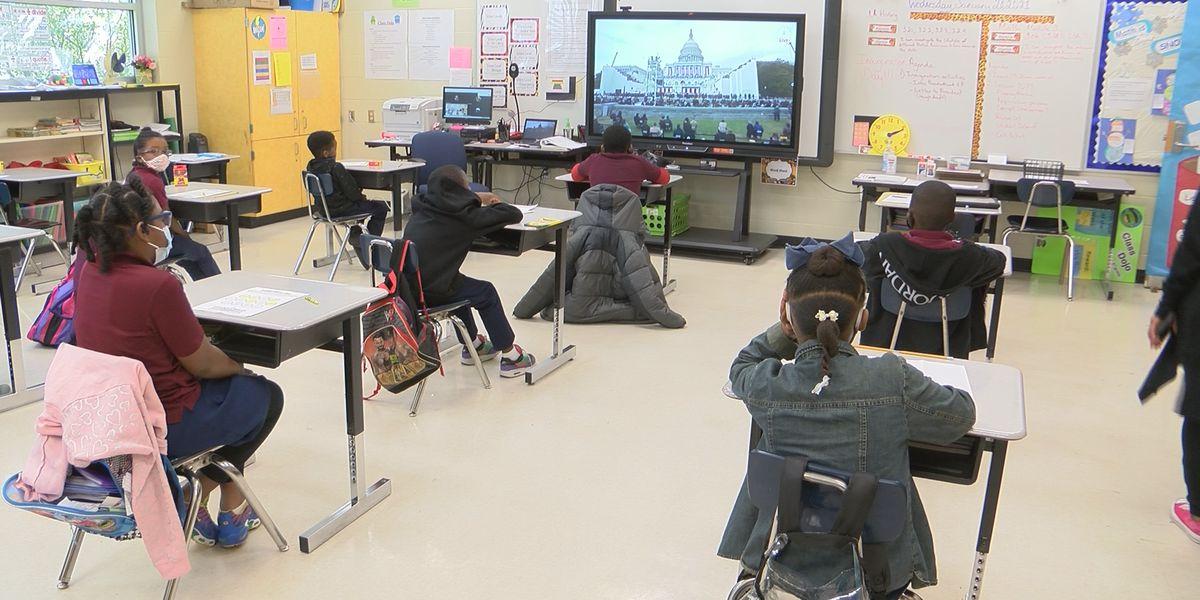Baton Rouge children react to presidential inauguration