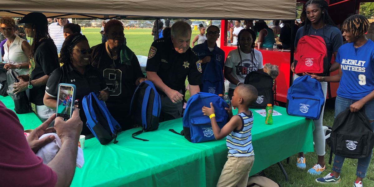 Backpacks given to students to honor Sadie Roberts-Joseph's commitment to education