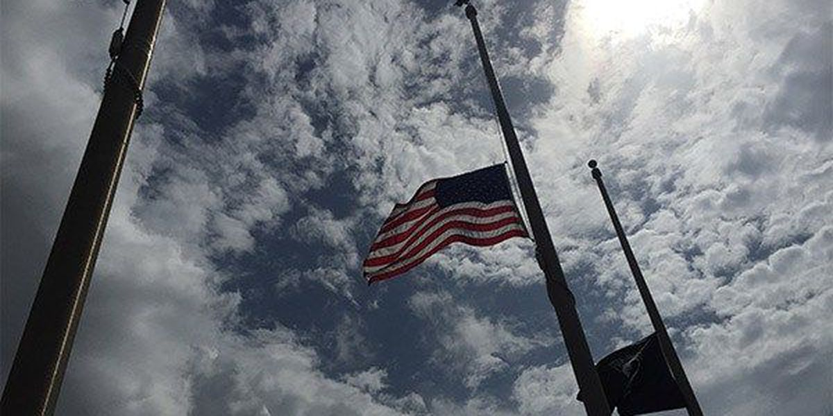 Gov. orders flags at half staff to honor fallen deputy, Sgt. Shawn Anderson