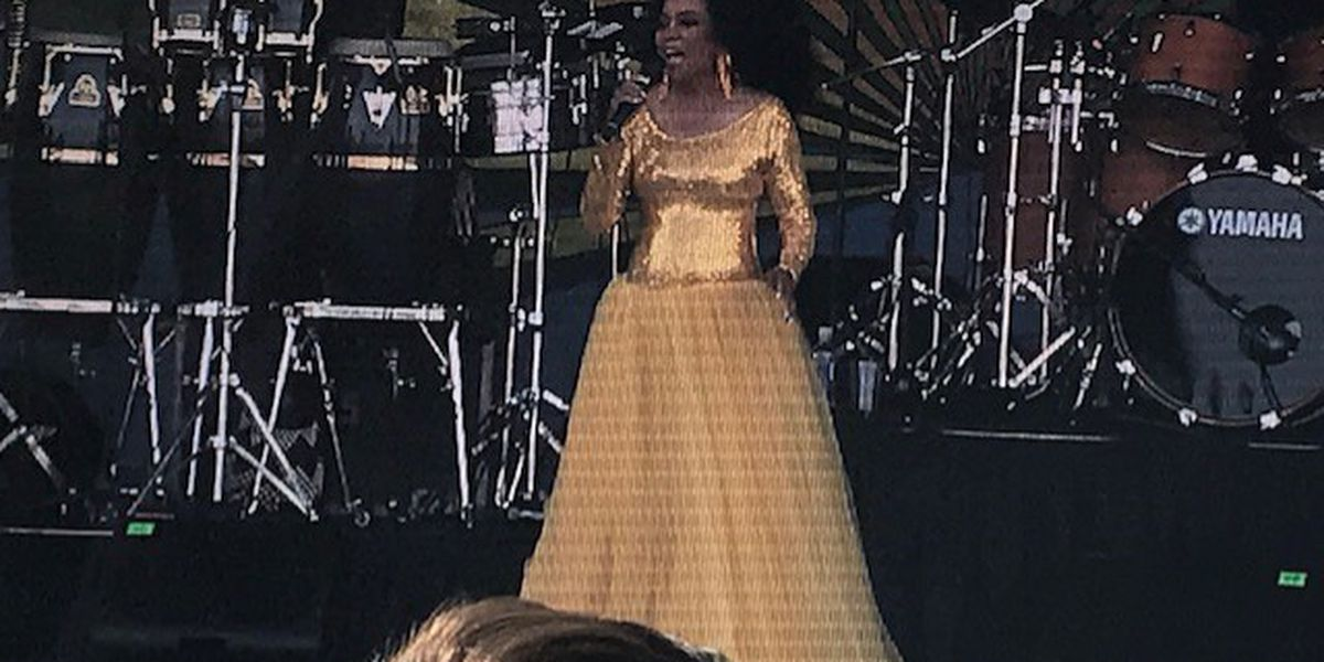 Diana Ross tweets about unpleasant TSA experience following Jazz Fest performance