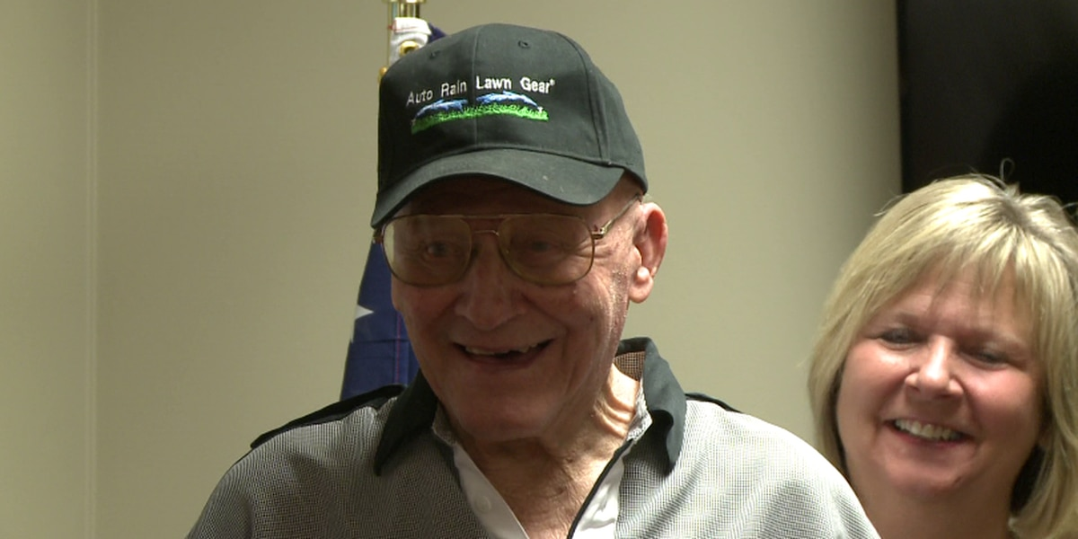 WWII veteran earns high school diploma