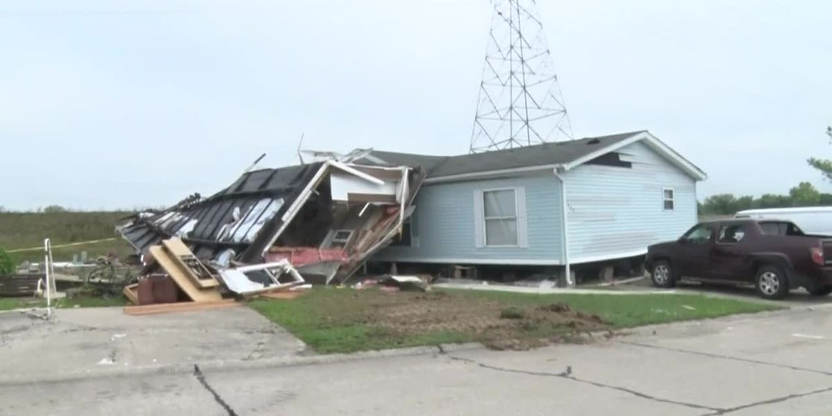 Woman, 73, dies after saving grandson from storms in Indiana