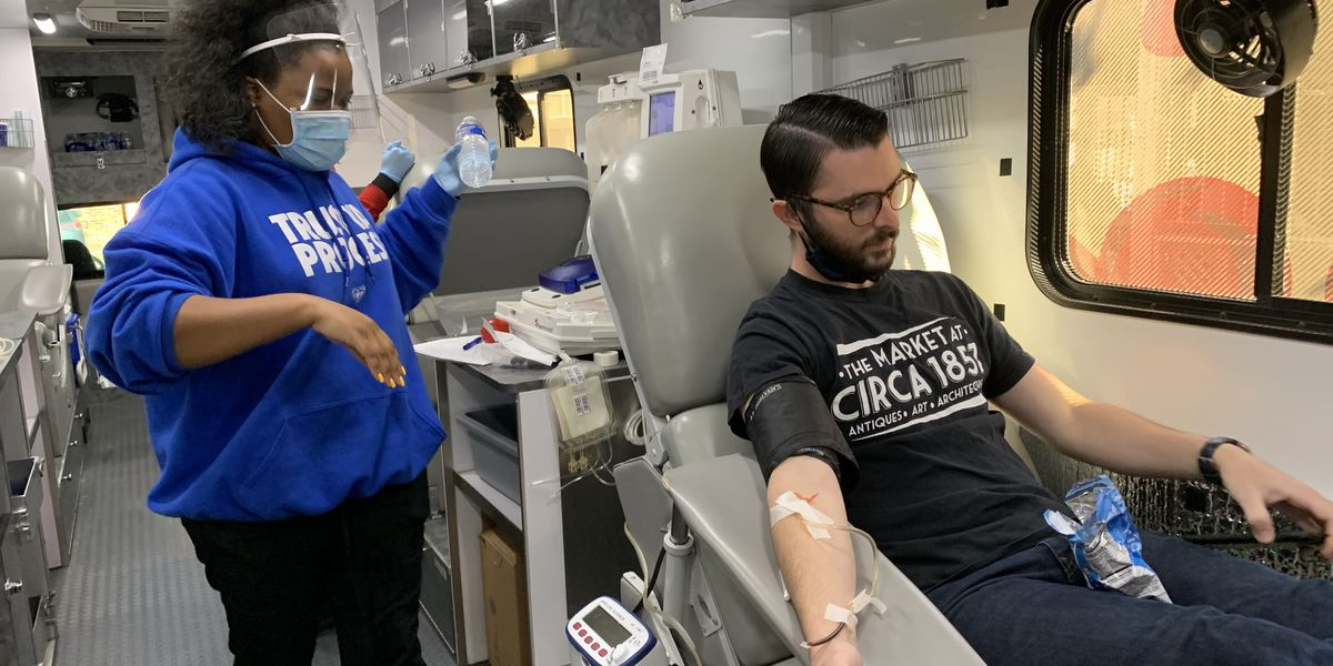 Baton Rouge hospitals work with small business in hopes of getting more people to donate blood during the pandemic