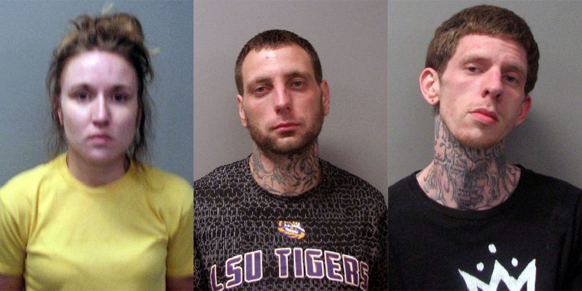 Anonymous tips lead to drug bust, 3 arrests