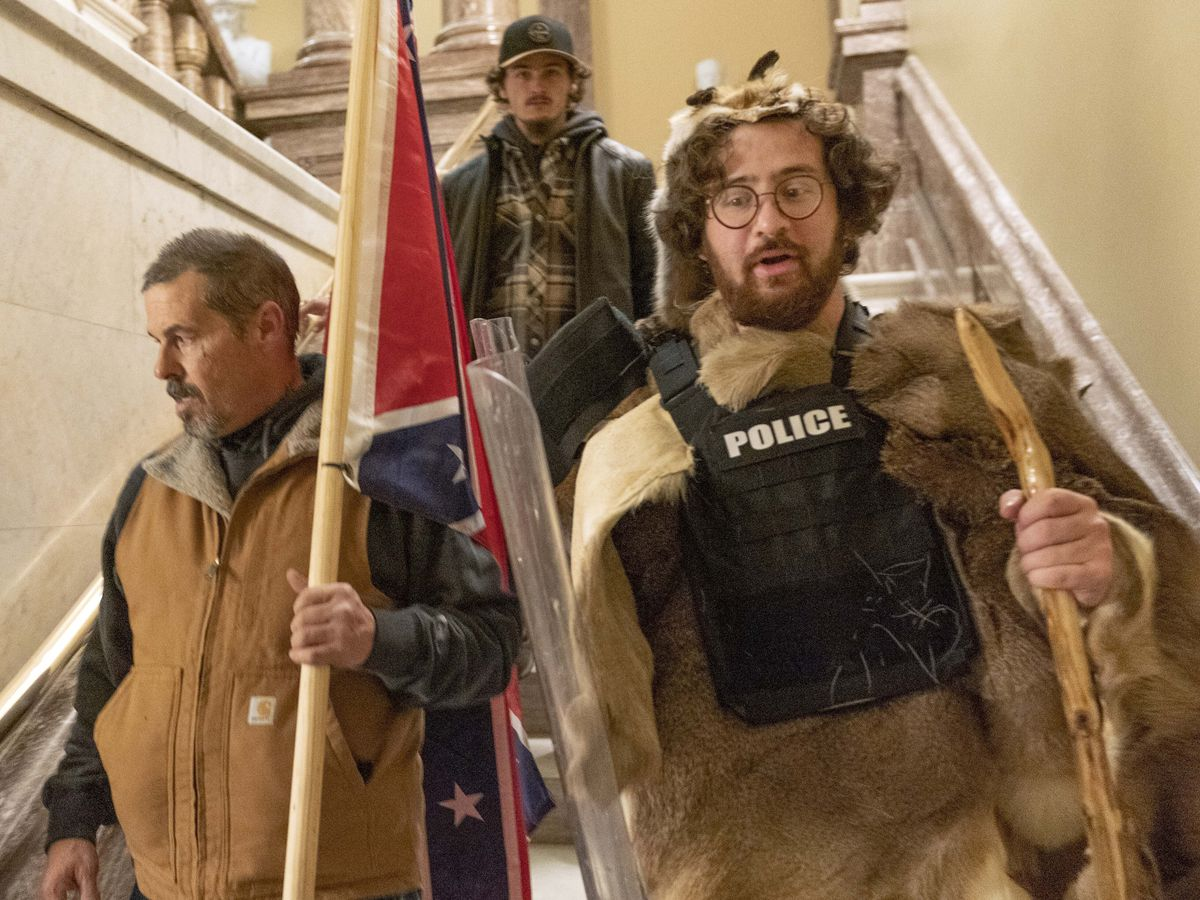 Capitol riot: Confederate flag photo leads to man's arrest