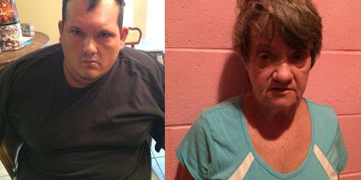Mother, son arrested in East Feliciana Parish SWAT drug bust