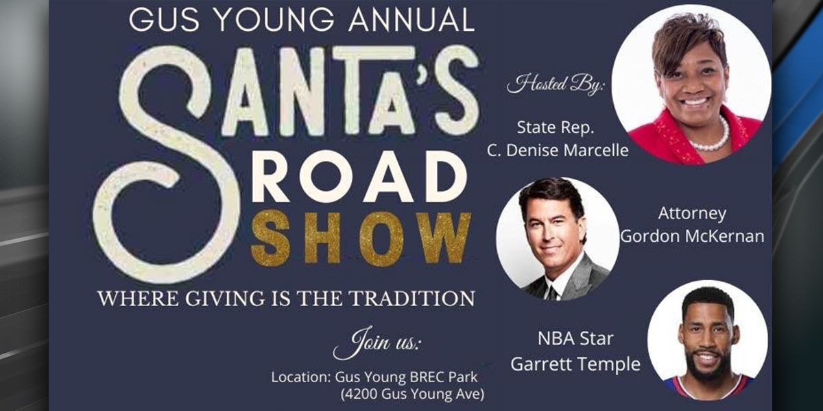Santa's Road Show free toy giveaway scheduled for Saturday, Dec. 21