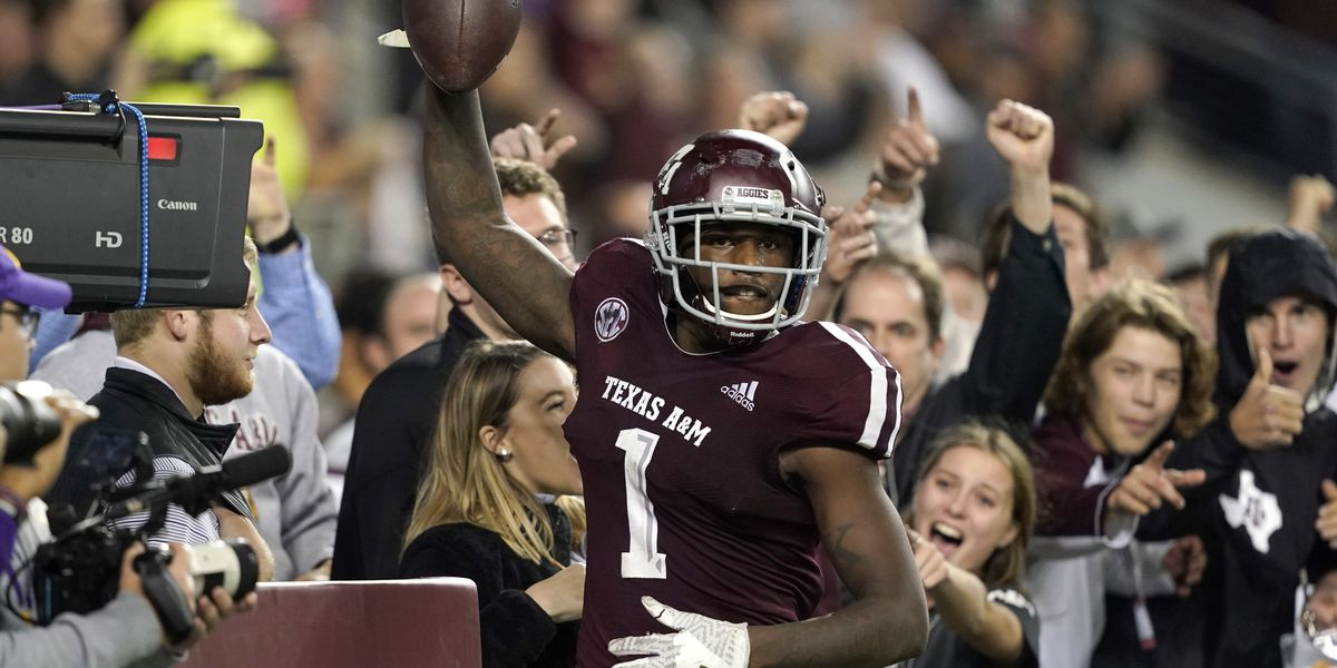 Mond helps Aggies over No. 8 LSU 74-72 in 7 OTs