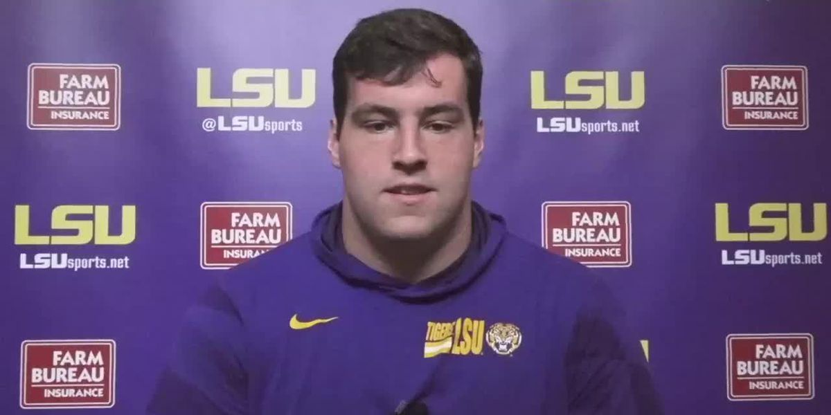 LSU C Liam Shanahan - 10/20/20 (Full Interview)