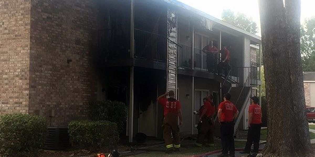 BRFD responds to fire at Afton Oaks Apartments