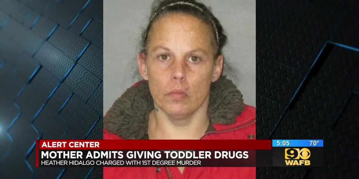 Mother arrested after admitting to giving toddler drugs for several months, eventually killing her
