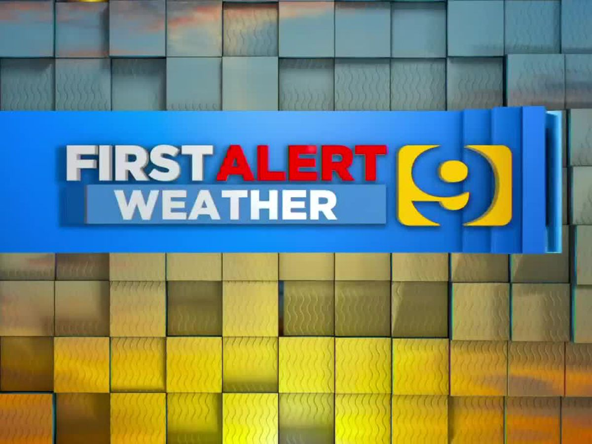 FIRST ALERT FORECAST: Cold start, isolated showers possible