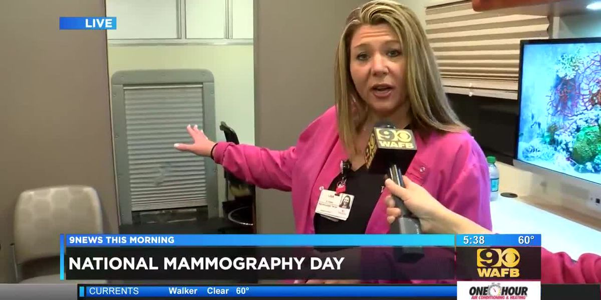 Woman's Hospital encourages women to get mammograms on National Mammography Day - 5:30 a.m.