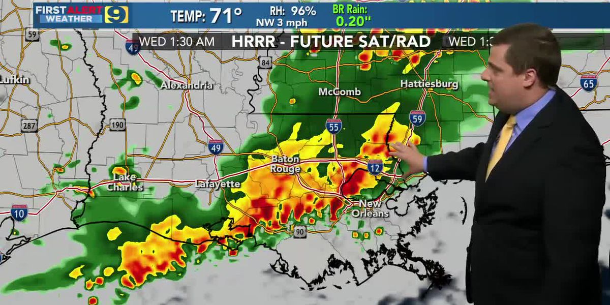 FIRST ALERT 10 P.M. FORECAST: Tuesday, May 11