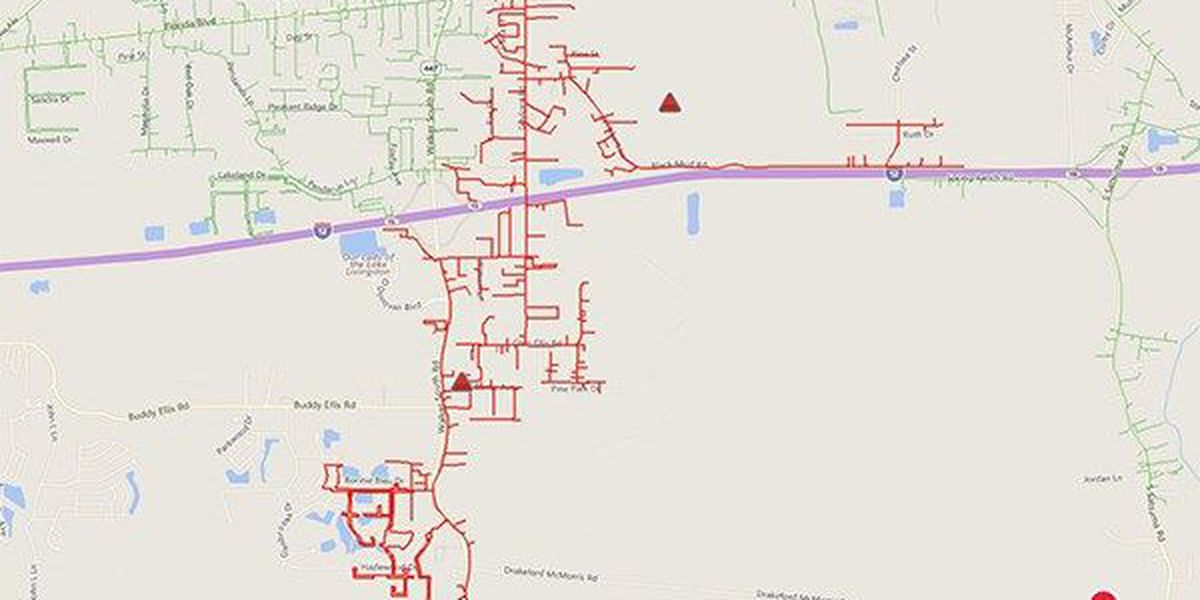 Power restored to more than 1,500 customers in Walker area after early morning outage