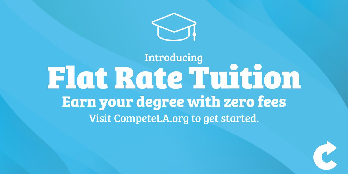 Adults returning to school to finish degree get nearly 45% off tuition through new program