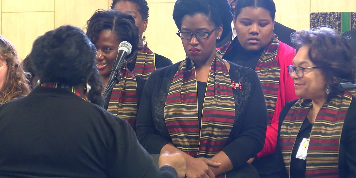 Special MLK Day ceremony held at OLOL