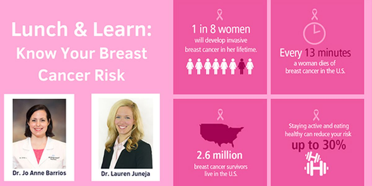 BRG to host free lunch teaching breast cancer risks