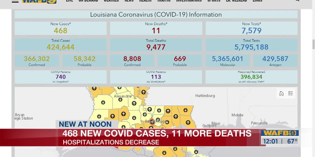 Latest number of coronavirus cases, deaths as of Feb. 22