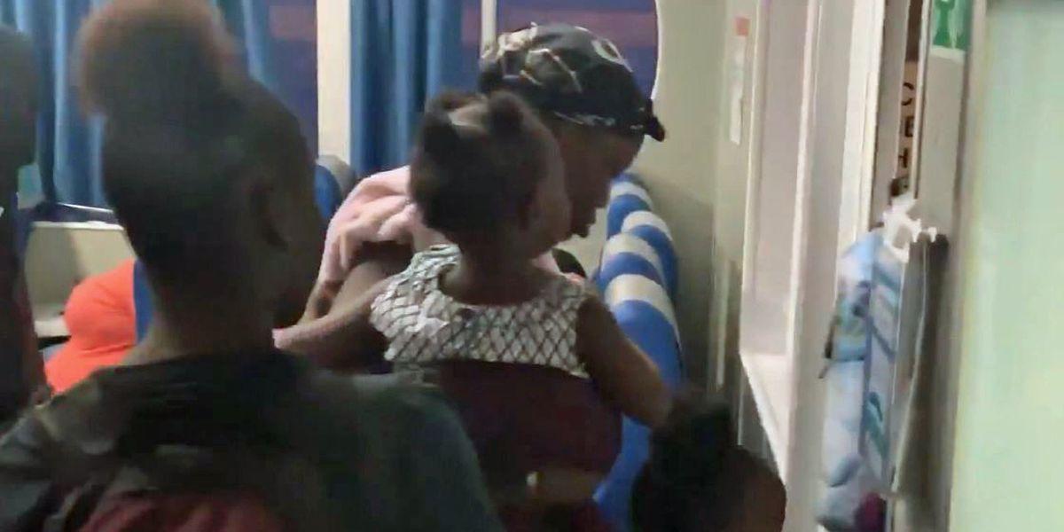 Dorian: Bahamas evacuees wrongly removed from ship amid visa confusion