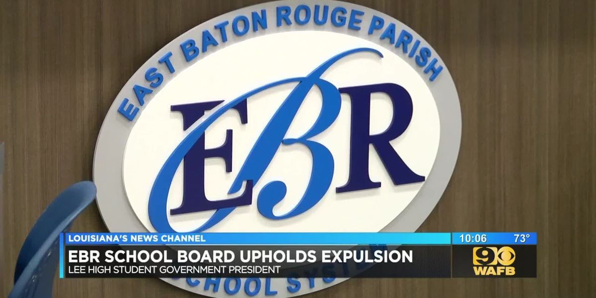EBR school board upholds expulsion of senior accused of bringing knife, marijuana to school