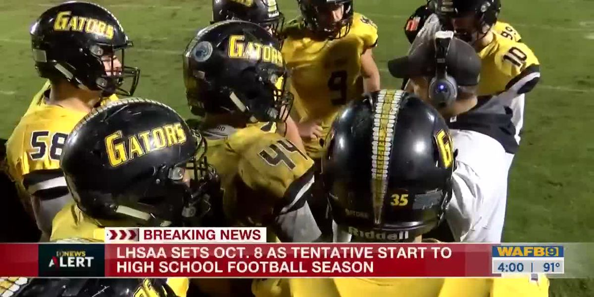 Start of high school football in Louisiana delayed until Oct. 8