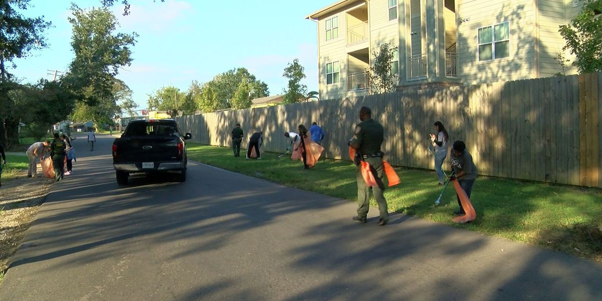 TRUCE holds neighborhood cleanup in Brookstown