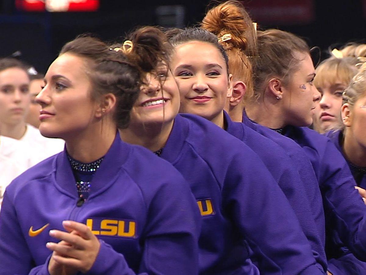 LSU gymnastics advances to NCAA Championships Finals
