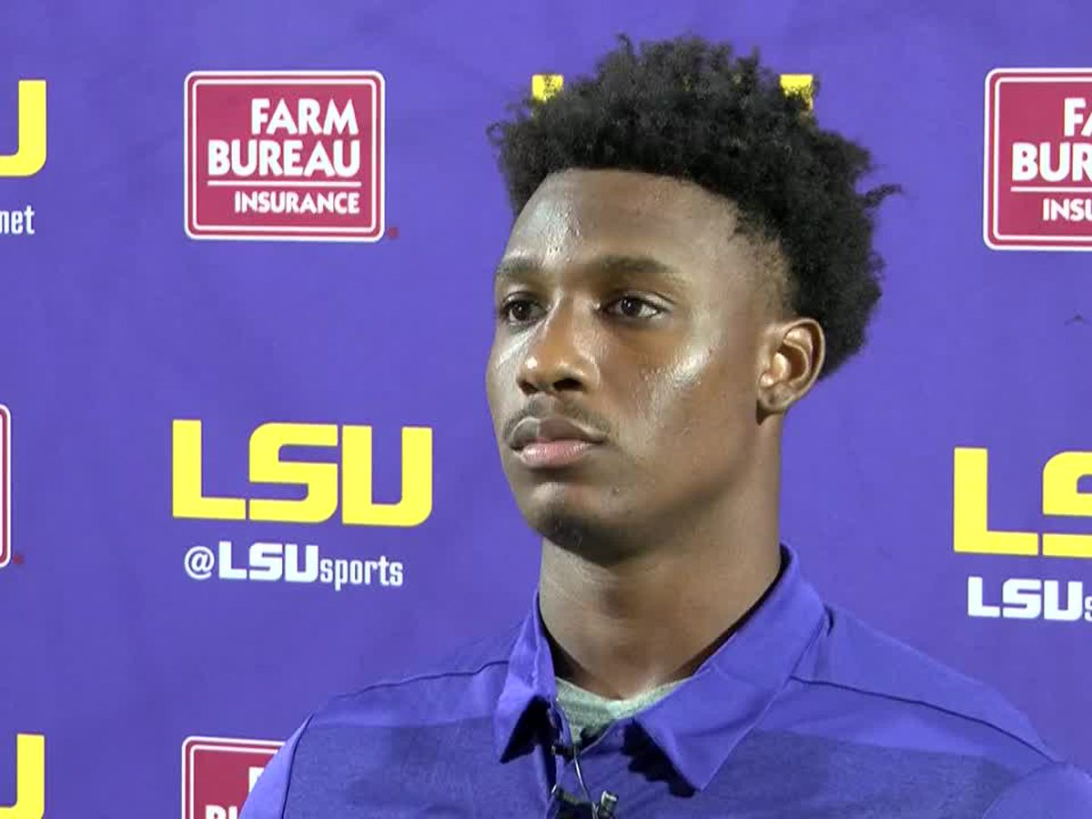 LSU receiver to miss Mississippi State game