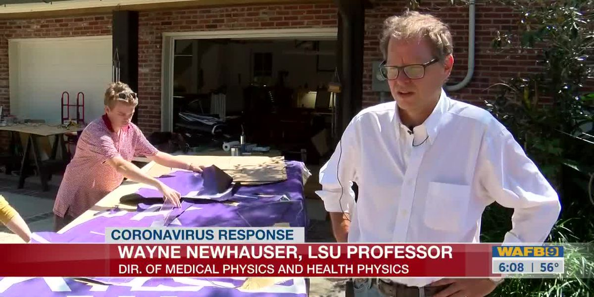 LSU team creates masks, ventilator parts for physicians treating patients with COVID-19 - 6 a.m.