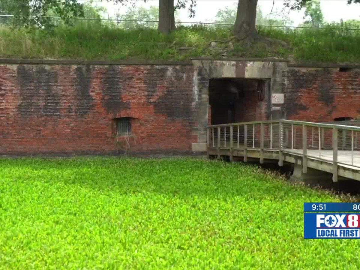Heart of Louisiana: Fort Jackson