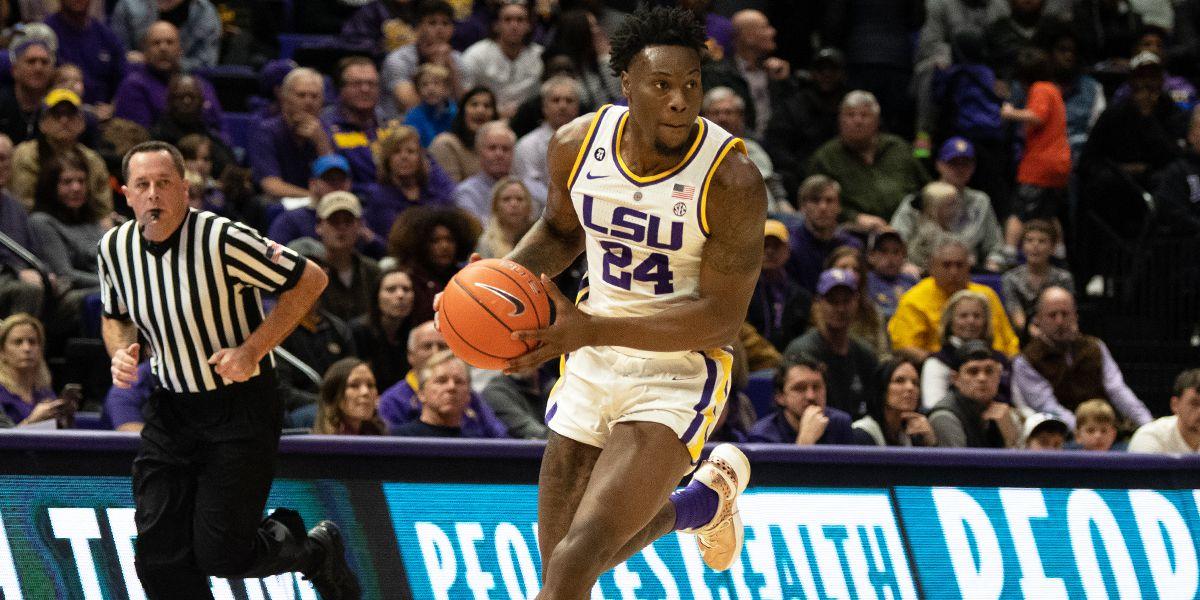 LSU freshman forward Emmitt Williams declares for the NBA Draft