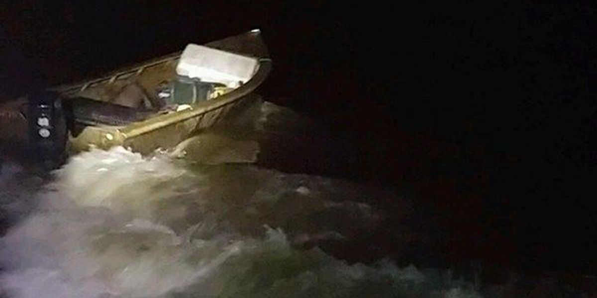Coast Guard crew rescues man who fell out of boat into cold Atchafalaya River